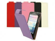 Classic Flip Case Hoesje voor Alcatel One Touch M'Pop