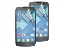 Muvit Screenprotector Glossy & Matte voor Alcatel One Touch Pop C7