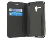 Slimline Wallet Book Case - Hoesje voor Alcatel OneTouch Pop D5