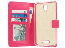Bookcase Roze - Alcatel Pop 4 Plus hoesje