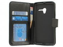 Wallet Bookcase - Alcatel Pop 3 (5) Hoesje (Zwart)