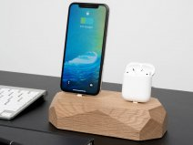 Oakywood Dual Dock Oak - Houten Lightning/Watch Dock