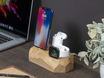 Oakywood Triple Dock Oak - Houten Lightning/Watch Dock