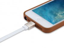 Just Mobile AluCable Flat - Luxe Aluminium Lightning USB Kabel