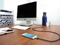 Just Mobile AluCable - Luxe Aluminium Lightning USB Kabel (150cm)