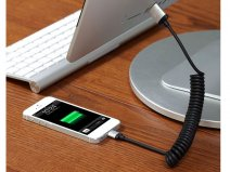 Just Mobile AluCable Twist - Luxe Aluminium Lightning USB Kabel