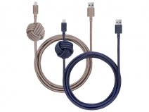 Native Union Night Cable - Zware Lightning kabel (3m)
