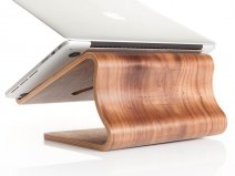 Woodcessories EcoLift Walnut - Houten Macbook Stand