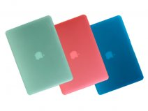 Gecko Frost Cover Pastel Colors voor MacBook Pro Retina (15 inch)