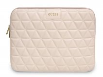 Guess Quilted Laptop Sleeve Nude - 13 inch MacBook Hoes