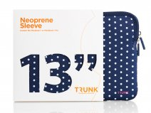 Trunk Polka Dot Sleeve - MacBook Pro 13