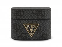 Guess 4G Monogram Case Grijs - AirPods Pro Case Hoesje