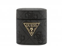 Guess 4G Monogram Case Grijs - AirPods 1 & 2 Case Hoesje
