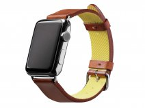 Native Union Active Strap Bruin - Apple Watch Band Leer