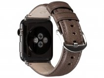 Sena Heritage Leather Strap Grijs - Apple Watch Band 42/44mm