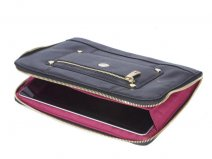 Knomo Zip Sleeve Leren Case - Tablet iPad hoesje