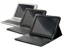 Keyboard Case Croco - iPad 2/3/4 hoesje met toetsenbord
