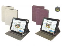 Muvit Easel Croco Cinema Stand Case - iPad hoesje