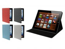 Polka Dot Cinema Stand Case voor iPad 2, 3 & 4