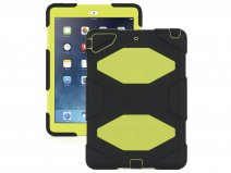 Griffin Survivor Case Zwart/Geel - iPad Air 1 Hoesje