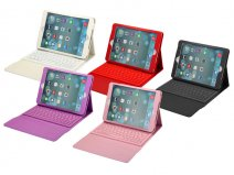Keyboard Folio Kunstleren Hoes Case voor iPad Air