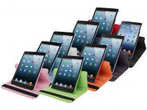 Color Series Swivel Stand 360-turn Stand Case voor iPad mini