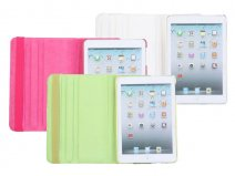 Flower Swivel Stand 360-turn Case Hoesje voor iPad Mini