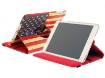 Vintage USA Swivel Case - iPad mini 1/2/3 hoesje