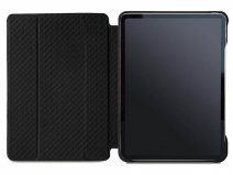 Vaja Libretto Leather Case Zwart - iPad Air 4 2020 Hoesje Leer