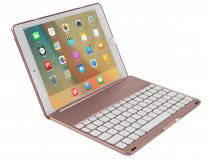 Bluetooth Toetsenbord Case Rosé - iPad 2018/2017 Hoes