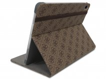 Guess 4G Monogram Case Bruin - iPad 9.7 (2017/2018) Hoes