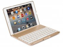 Bluetooth Toetsenbord Case Goud - iPad Air 2 / Pro 9.7 Hoesje