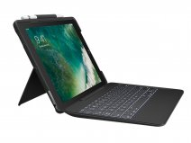 Logitech Slim Combo Keyboard Case - iPad Air 3 Toetsenbord Hoesje (AZERTY)