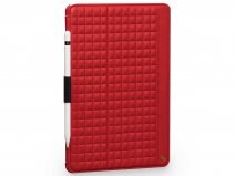 Sena Future Folio Rood - Leren iPad Air 3 2019 hoesje
