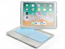 Bluetooth Toetsenbord Case 360 Zilver - iPad Air 3 Toetsenbord Hoesje
