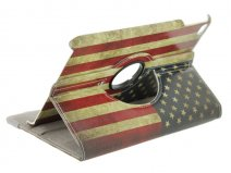 Vintage USA Stand Case - iPad mini 4 hoesje