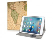 Antique World Map Stand Case - iPad Pro (12.9) Hoesje