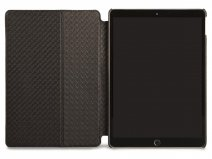 Vaja Libretto Leather Case Zwart - iPad Pro 10.5 Hoesje Leer