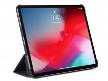 Decoded Slim Cover Zwart Leer - iPad Pro 12.9 2018 hoesje