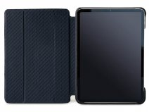Vaja Libretto Leather Case Blauw - iPad Pro 12.9 2018 Hoesje Leer