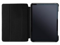 Vaja Libretto Leather Case Zwart - iPad Pro 12.9 2018 Hoesje Leer