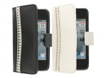 Elegant Pearls Bookcase - iPhone 4/4S hoesje