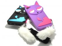 Siamese Kitty Silicone Skin - iPhone SE/5s/5 Hoesje