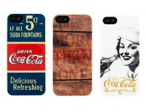 Coca-Cola Retro Hard Case - iPhone SE / 5s / 5 hoesje