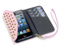 Covert Studs Wallet Pastels - iPhone SE / 5s / 5 hoesje