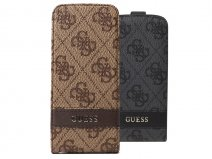 Guess Monogram Leather Case - iPhone SE / 5s / 5 hoesje