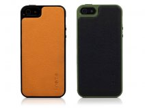 Knomo Leather Case - iPhone SE / 5s / 5 hoesje