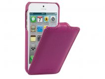 Melkco Jacka Type Purple - Leren iPhone SE/5s/5 hoesje