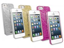 Muvit Glitter Hard Case - iPhone SE/5s/5 hoesje