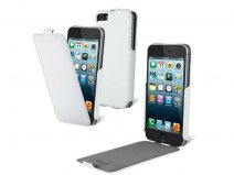 Muvit Snow Flip Case - iPhone SE/5s/5 hoesje